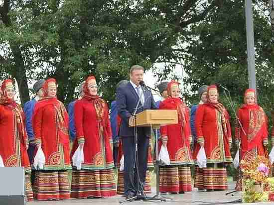 Под Рязанью прошел Всероссийский есенинский праздник поэзии