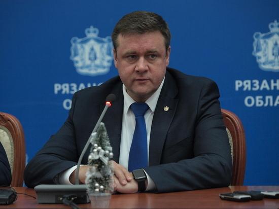 Губернатор Рязанской области ответил на вопросы и подвел итоги года